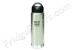 Klean Kanteen K20VWSSL 20-Ounce Stainless Steel Wide Insulated Bottle with Loop-cap