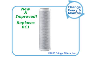 OmniFilter CB1 Undersink Filter Replacement Cartridge