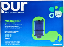 PUR RF-9999-3 3-Stage Faucet Filter Replacement Cartridge (3-Pack)