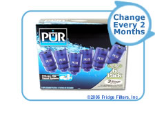 PUR RF-9999-6 3-Stage Faucet Filter Replacement Cartridge (6-Pack)