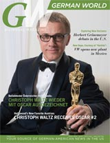 The Premier German-American Magazine in the US. Quarterly. Bilingual.