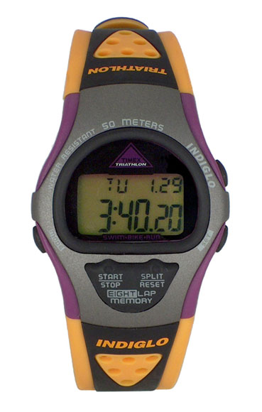 Polyurethane Sports Watch. polyurethane in two-tone