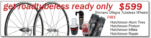 Road Tubeless Ready Only $599
