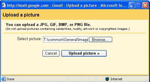 how to delete your profile picture on gmail