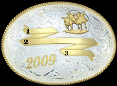 Trophy Buckle 1943, example 1