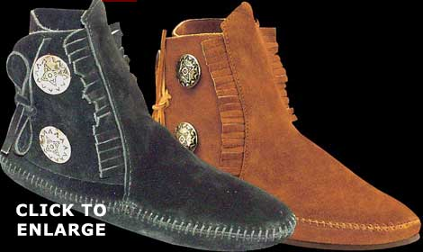 Two Button Boot from Minnetonka Moccasin