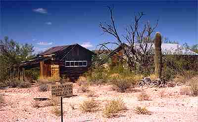 old west mining town Vulture, Arizona 2
