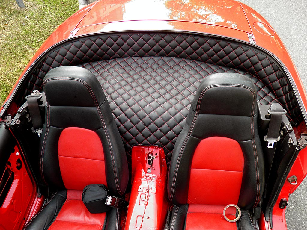mazda miata custom rear leather parcel shelf cover 1990 1997. Black Bedroom Furniture Sets. Home Design Ideas