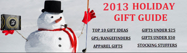 Holiday Golf Gift Guide - 2013