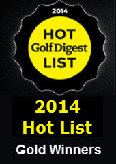Golf Digest Hot List Gold 2014