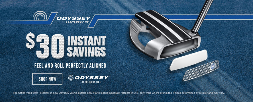 Odyssey Works Putters Price Drop