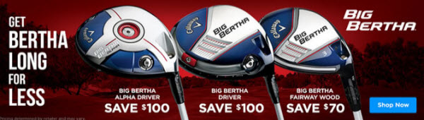Callaway Big Bertha Price Drop