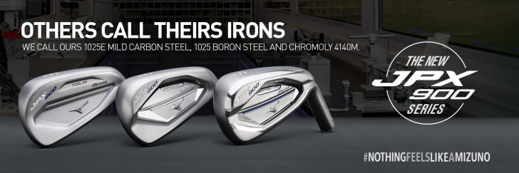 New 2016 Mizuno Irons