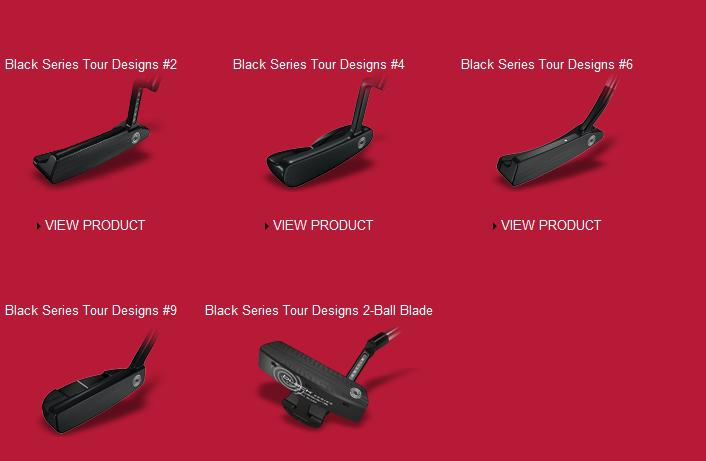 Odyssey Black Tour Designs Putters Specs