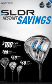 TaylorMade SLDR Sale