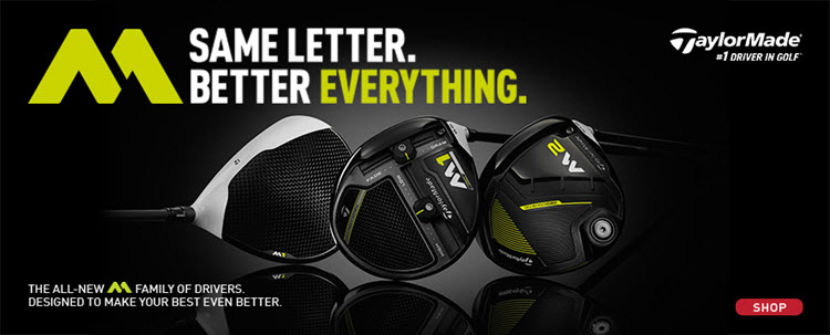 New 2017 TaylorMade M Drivers