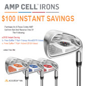 AMP CELL Free Cobra Baffler Hybrid or Fairway Wood