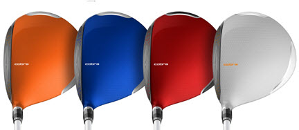 Cobra AMP Cell Fairway Colors