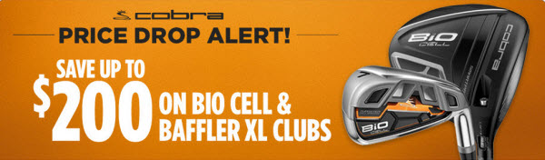Cobra BiO Cell and Baffler XL Iron Sale