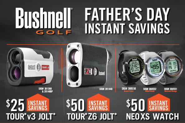Bushnell Fathers day sale