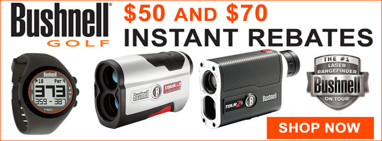 Bushnell Golf Holiday Promotion
