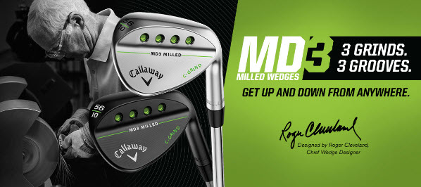 New Callaway MD3 Wedges 2016