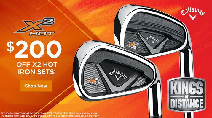 Callaway X2 Hot Iron Sale