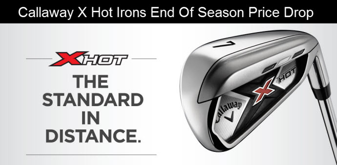 Callaway X Hot Iron Sale