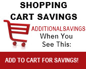 Shopping Cart Savings
