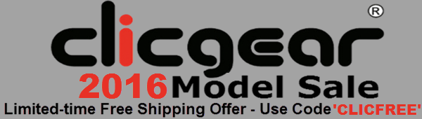 Clicgear Free shipping offer