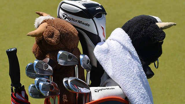Sergio Garcia's Winning Bag