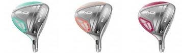 Cobra Lady BIO CELL Fairway Woods colors