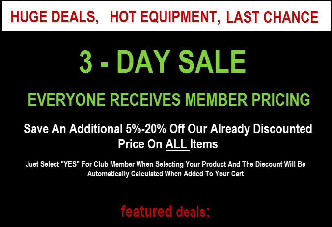 GreatGolfDeals Last Chance Sale