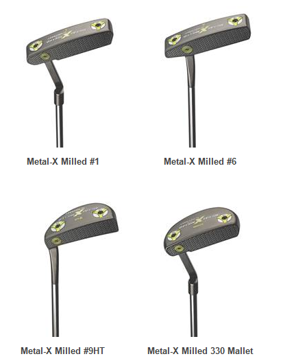 Odyssey Metal-X Milled Putters Specs