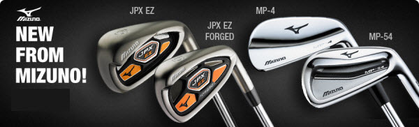 New Mizuno Clubs