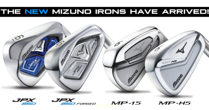 New 2015 Mizuno Irons