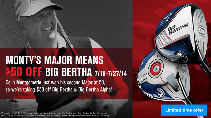 Callaway Big Bertha Sale