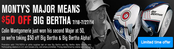 Big Bertha Sale