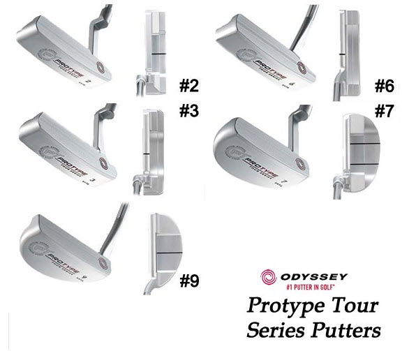 Odyssey ProType Tour Series Putters