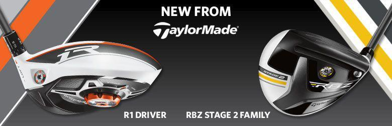 2013 TaylorMade  R1 & RBZ Stage 2 Clubs