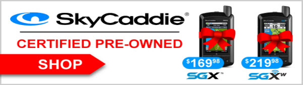 Certified Pre-Owned SkyCaddie Units