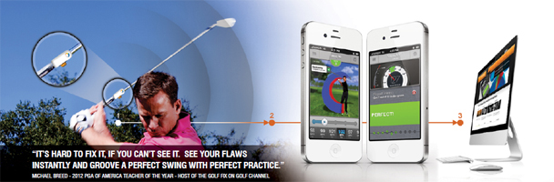 SkyCaddie SkyPro Swing Training Aid