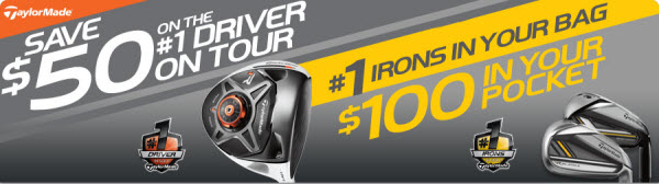 TaylorMade Savings