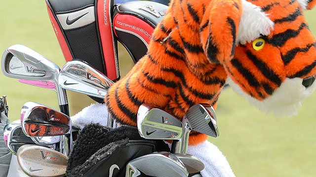 Tiger Wood's Winner's Bag