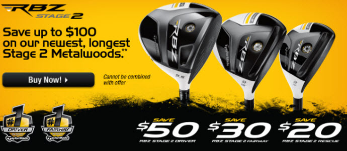 TaylorMade RocketBallz Stage 2 Promo