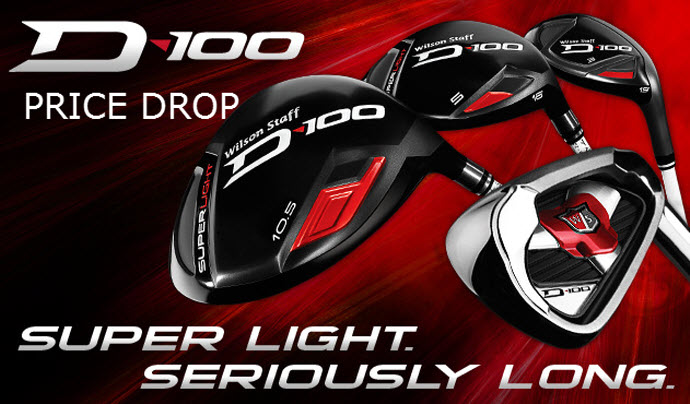 Wilson Staff D-100 Iron Promotion