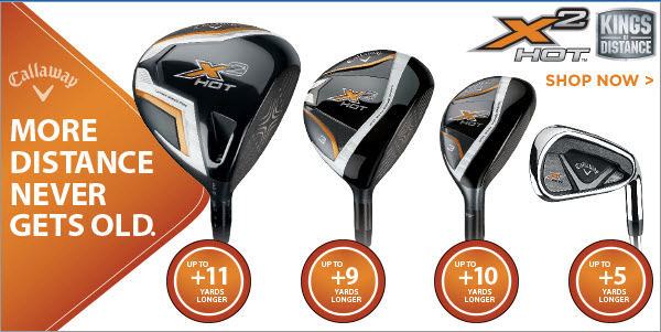 Callaway X2 Hot Full Set