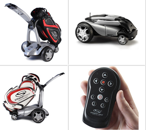 Stewart Golf X7 Lithium Electric Push Cart