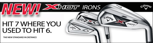 Callaway X Hot Irons