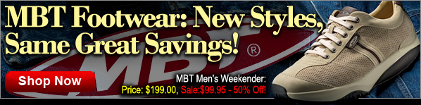 MBT Footwear Sale: New Styles, Same Great Savings - Save up to 77%!
